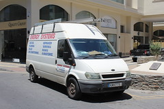 Energy Systems. (steve vallance coach and bus) Tags: kmh775 fordtransit larnaca cyprus