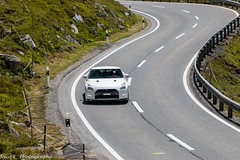 Nissan GT-R (Nico K. Photography) Tags: nissan gtr 2014 white supercars nicokphotography switzerland julierpass