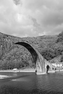 Il Ponte del Diavolo di Borgo a Mozzano (Lucca, Italia)