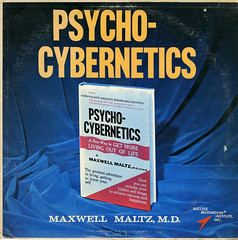 Psycho-Cybernetics (Jim Ed Blanchard) Tags: lp album record vintage cover sleeve jacket vinyl weird funny strange kooky ugly thrift store novelty psycho cybernetics maxwell maltz motivational instructional