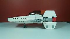 A-Wing (Side) (Jesusfreak110102) Tags: lego star wars moc jedi wing awing