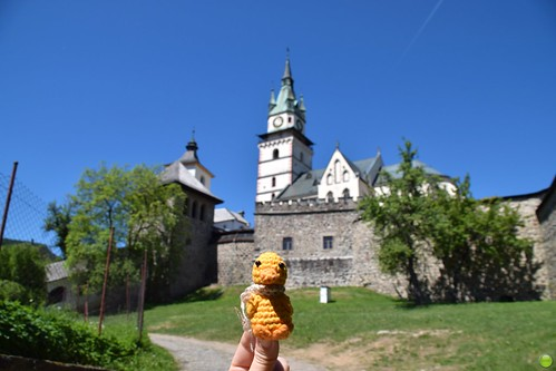 Ducky and the Town Castle of Kremnica