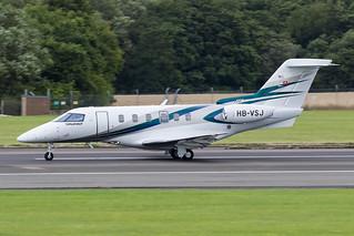 HB-VSJ Pilatus PC-24 Prestwick 08.08.18