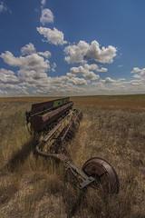 Old Aggie (Len Langevin) Tags: abandoned farm ag equipment disc prairie alberta montana bigskycountry canada usa nikon d7100 tokina 1116