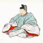 Shogun by Kōno Bairei (1844-1895). Digitally enhanced from our own original 1913 edition of Barei Gakan. thumbnail