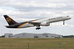 N433UP Being 757-24APF (Irish251) Tags: ups cargo 757f stn egss