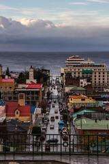 Calle Monseñor José Fagnano (Diego_Valdivia) Tags: puntaarenas patagonia magallanes chile tierradelfuego estrechodemagallanes nubes clouds mirador viewpoint cerrolacruz calle monseñorjoséfagnano canon eos 60d