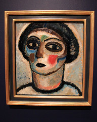 Frauenkopf (Woman's Head), by Andrei Jawlensky (JB by the Sea) Tags: sanfrancisco california july2018 financialdistrict sanfranciscomuseumofmodernart sfmoma painting andreijawlensky