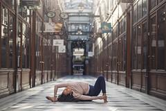 (dimitryroulland) Tags: nikon d600 85mm 18 dimitryroulland yoga yogi paris france passage performer art flexible people flexibility natural light