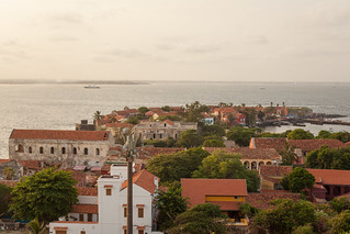 The island of Gorée lies off the coast of Senegal