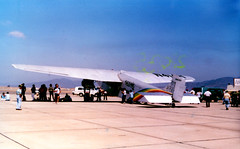 air show image (San Diego Air & Space Museum Archives) Tags: nc414h n414h cn5at74 5at74 grandcanyonairlines nx414h x414h panamericanairways panamerican paa panam xabcx ciamexicanadeaviacion mexicanadeaviacion compañíamexicanadeaviación companiamexicanadeaviacion mexicana xabks lgafa ciaguatemaltecadeaviacion guatemaltecadeaviacion guatemaltecadeaviación guatemalteca northwestagriculturalaviationcorporation northwestagriculturalaviation twa americanairlines scenicairlines aviation aircraft airplane airlines airliners stoutmetalairplanecompany stout ford ford5atctrimotor ford5atc fordtrimotor trimotor tingoose prattwhitney prattwhitneywasp waspradial prattwhitneyr1340 prattwhitneyr1340wasp r1340 r1340wasp