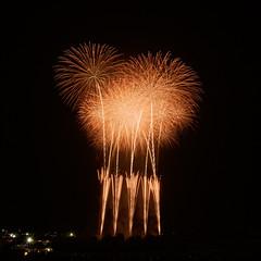 第54回常総きぬ川花火大会 54th Jhoso-Kinugawa Fireworks Festival (ELCAN KE-7A) Tags: 日本 japan 茨城 ibaraki 常総 jhoso 水海道 mitsukaido 花火 fireworks ペンタックス pentax k3ⅱ 2018
