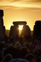 Stonehenge sunrise, Summer Solstice 2018 (Fergus McNeill) Tags: stonehenge summer solstice
