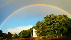 rainbow at the beginning of summer 2018 (catenius) Tags: hamburg 2018 summer rainbow guest house senate gästehaus senat alster