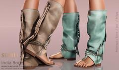 Seniha. India Boots @UBER (Seniha Originals) Tags: nativeurban uber sl secondlife boots indian sexy