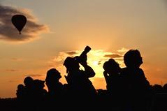 One last Capture (gderifield2122) Tags: d90 d7000 nikon silhouette sky color sunset balloons