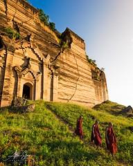 The Unfinished Mingun Pagoda (Mandalay, Myanmar 2013) (Alex Stoen) Tags: 1dx alexstoen alexstoenphotography burma canon canoneos1dx geotagged mandaly myanmar natgeo nationalgeographicexpeditions portrait travel vacation yangon