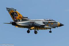 Tornado ECR, 46+57, Duitsland (Alfred Koning) Tags: 4657 duitsland epkspoznańkrzesiny exerciseoefening locatie pa200tornado tigermeet2018 tornadoecr vliegtuigen