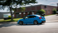 IMG_2232 (PedoJim) Tags: subaru wrx sti varis blue ivy nextmod turbo ej25 wing racecar lachute quebec montreal brembro bakemono track car