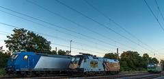 07_2018_08_05_Wanne-Eickel_Üwf_6185_529_ATLU_ES_64_U2_-_023_6182_523_DISPO_6193_277_ELOC_TXL (ruhrpott.sprinter) Tags: ruhrpott sprinter deutschland germany allmangne nrw ruhrgebiet gelsenkirchen lokomotive locomotives eisenbahn railroad rail zug train reisezug passenger güter cargo freight fret herne wanne eickel wanneeickel üwf atlu vectron siemens 6182 6185 6193 es 64 u2 es64u2 mrcedispo mrcedispolok mrce dispo stellwerk stellwerküwf txl txlogistik kaiser franz outdoor logo natur werbung