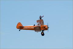 Breitling Wing Walker (mikeyp2000) Tags: shuttleworth breitling airshow wingwalker