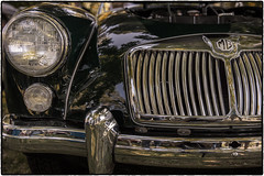 Classic MG (drpeterrath) Tags: canon eos5dsr 5dsr mg classic car auto automobile vintage grill green show naturallight outdoor