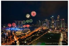 Fireworks! (hock how & siew peng) Tags: fireworks singapore national day singaporenationalday ndp 2018 nationaldayparade marina bay marinabay marinabaysands mbs esplanade padang