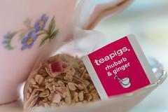 Macro Mondays - Mesh (hehaden) Tags: teacup saucer china tea teabag mesh macromondays macro
