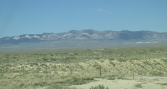 Ferris Dunes in the distance (tigerbeatlefreak) Tags: ferris dunes sand landscape wyoming mountains