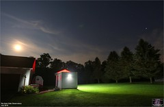 The Dark Side Observatory - June 26, 2018 (The Dark Side Observatory) Tags: tomwildoner darksideobservatory tdsobservatory timelapse stars moon saturn jupiter weatherly pennsylvania carboncounty lights clouds astronomy astrophotography astronomer space outerspace telescope night nightsky