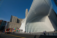 The Oculus (askhb55) Tags: modern wide 11mm 11 7100 d7100 nikoj theoculus oculus onewtc wtc world trade center 911 memorial nyc manhattan lowermanhattan lower new york city newyork newyorkcity financial district financialdistrict architecture