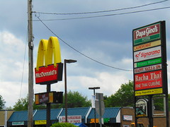 McDonald's (Worcester, Massachusetts) (jjbers) Tags: massachusetts june 24 2018 worcester mcdonalds retro fast food papa ginos pizza