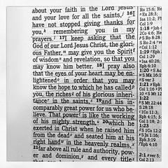 Ephesians 1:16-20 (StylesbyThree) Tags: ifttt instagram styles by three crochet