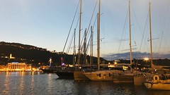Yacht Mole (RobW_) Tags: yacht mole zakynthos port greece saturday 04aug2018 august 2018 diaryphoto mdpd2018 mdpd201808
