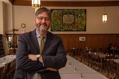 DSC_1891 (michael_swan) Tags: david sylvester president st michaels college university toronto