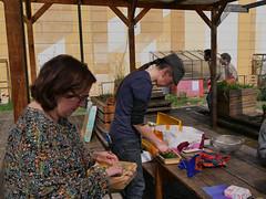 P1170827 (Auberfabrik albums) Tags: 1001plantes 2018 sylvienapolitano hapazome impressions laboratoires aubervilliers auberfabrik ateliers semeuse