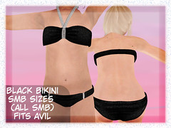 Black Bikini SMB/AviL (Laylani Marie) Tags: black bikini smb avil swimming beach none little more 9 18 sassyprincessfashions sassypandabloomers