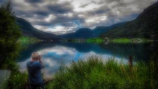Enjoying summer in Norway