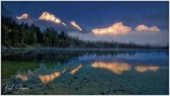 Almsee Am Morgen (Karl Glinsner) Tags: österreich austria alpen alps berge gebirge mountains mountain spiegelung reflection lake see nebel mist fog salzkammergut grünau almtal almsee morning morgen dawn morgendämmerung