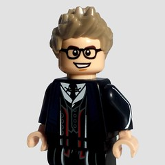 My New Siggy! (Ty S.) Tags: myself lego minifigure percivalgraves grindelwald suitcoat