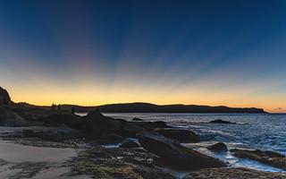 Dawn Rays over the Headland