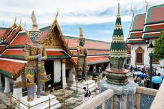 Grand Palace - Bangkok (Raquel Endless) Tags: grandpalace bangkok tailandia thailand scenery nikon d5000 tokina 1116 travel traveling