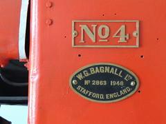 W.G. Bagnall narrow gauge steam locomotive No.4 (builder's number 2863), now preserved at Maden Teknik Arama (MTA)/Mining Technology & Research, Ankara (Steve Hobson) Tags: wg bagnall steam locomotive no4 2863 ankara mta maden teknik arama zonguldak