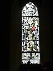 Church - Llandudno, Holy Trinity 180424 [Ellis & Blanche Mather Memorial Window a] (maljoe) Tags: church churches llandudno llandudnoholytrinity holytrinity stainedglass stainedglasswindow stainedglasswindows
