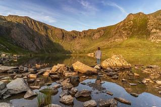 'Sunrise In The Cwm' - Cwm Idwal, Snowdonia