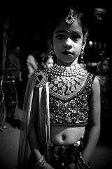 Serious poser (magiceye) Tags: child poser holi koli festival vesave versova monochrome blackandwhite mumbai maharashtra india street streetphoto streetportrait