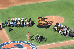 Bonds' Number Retirement (evie22) Tags: barry bonds number retired sf giants