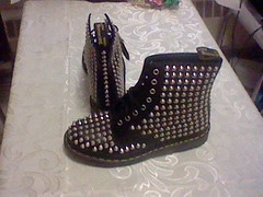 MyDoc's (SneakerManiac) Tags: boots docmartens studdedboots