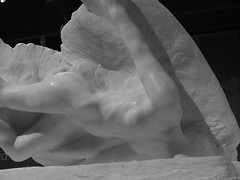 Marble Myth (failing_angel) Tags: 010518 london camdenborough bloomsbury britishmuseum museum rodin rodinandtheartofancientgreece sculpture augusterodin pheidias parthenon illusionsisteroficarus daedalus icarus illusion