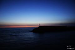No veo la diferencia en el atardecer  y el amanecer (Ismael Owen Sullivan) Tags: atardecer landscape paisaje sun sunset sea mar ocean horizont horizonte foto fotografia nikon nature naturaleza d5300 digital oceano atlantico atlantic photography galicia guarda españa pontevedra europa europe travel turismo viajar